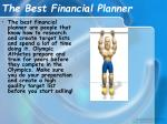 the best financial planner