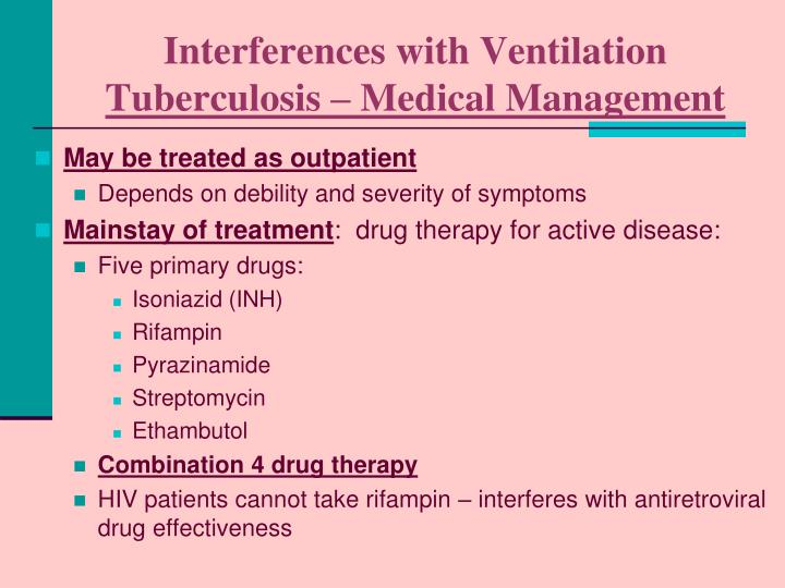 Interferences with Ventilation