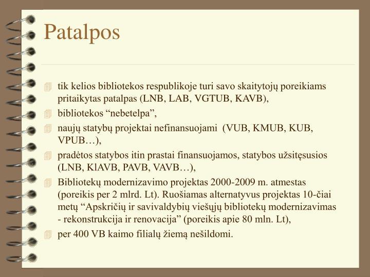 Patalpos