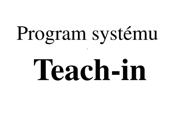 Program systému