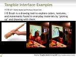 tangible interface examples