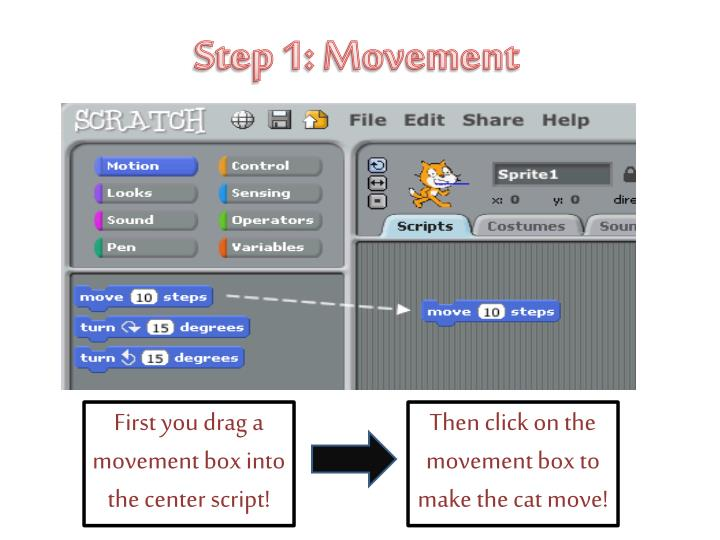 Step 1: Movement