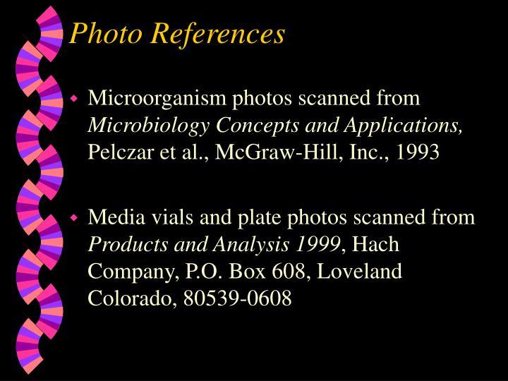 Photo References