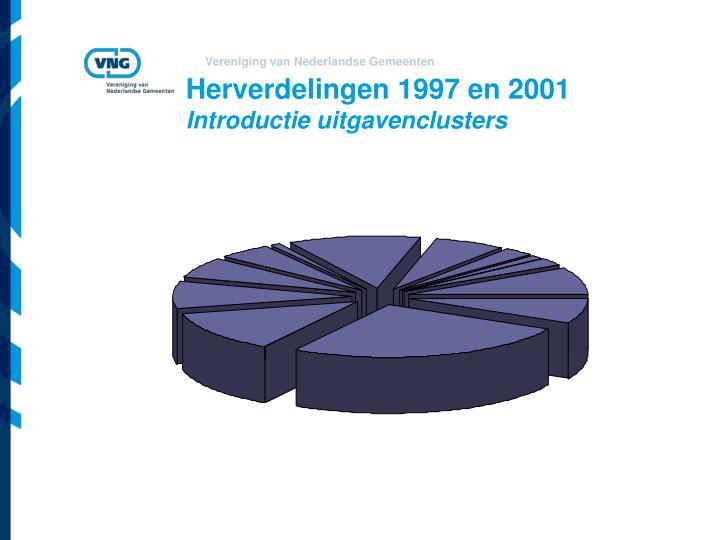 Herverdelingen 1997 en 2001