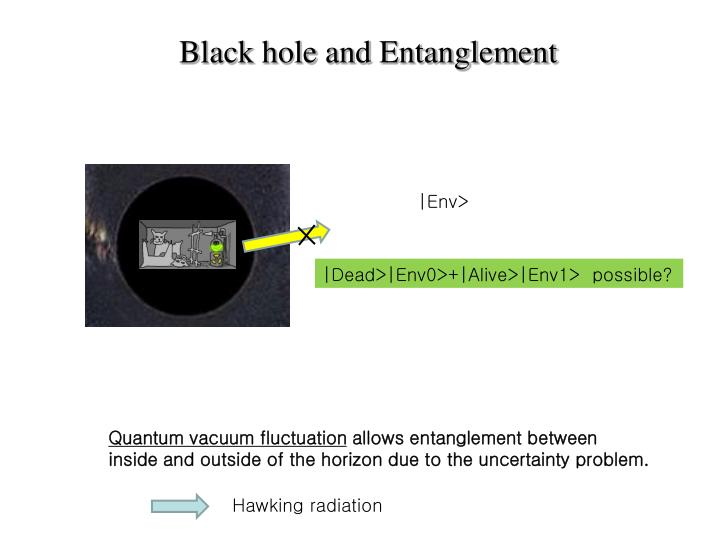 Black hole and Entanglement