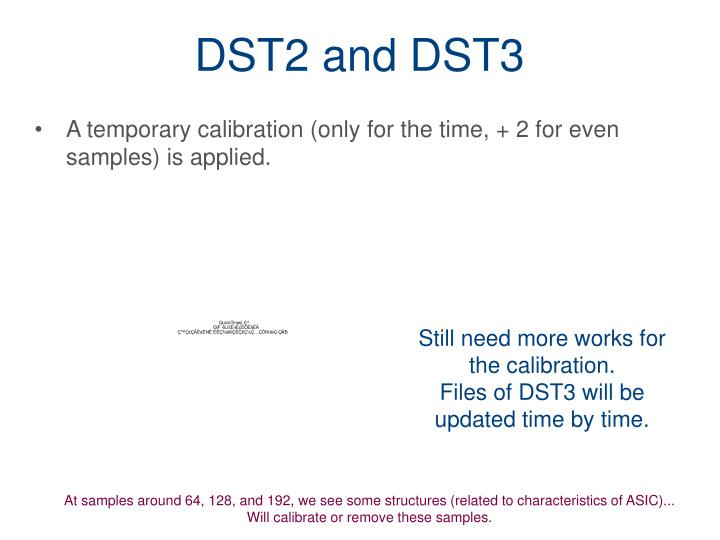 DST2 and DST3