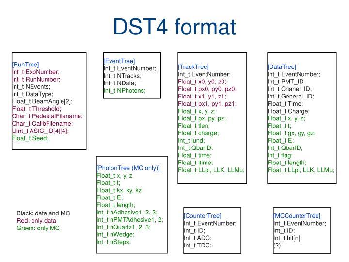 DST4 format
