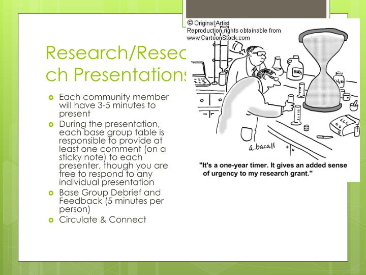 Research/Research Presentations