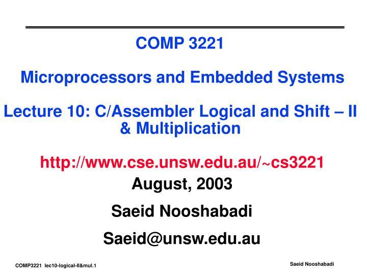 august 2003 saeid nooshabadi saeid@unsw edu au