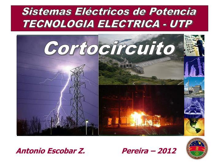 Sistemas Eléctricos de Potencia