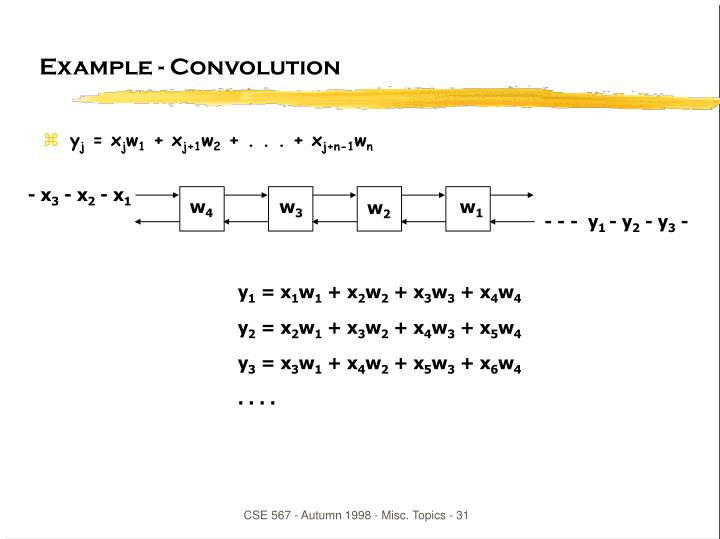 Example - Convolution