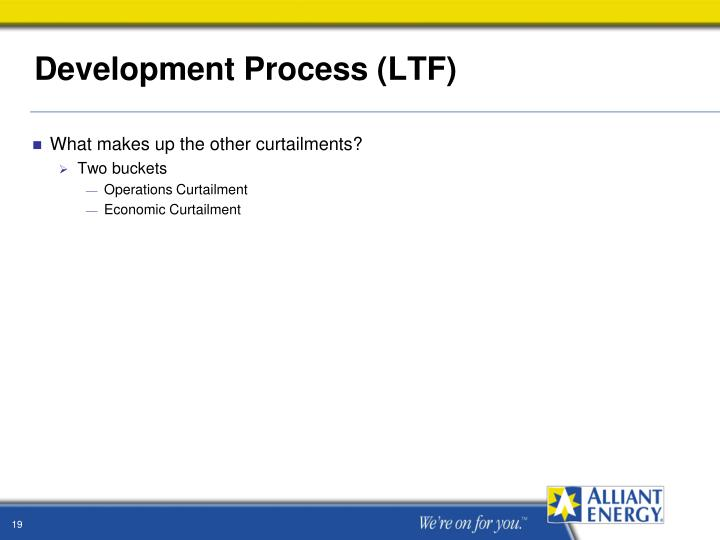 Development Process (LTF)