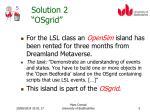 solution 2 osgrid