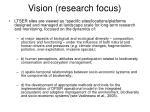 vision research focus