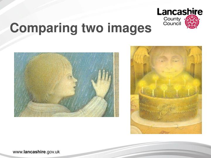 Comparing two images