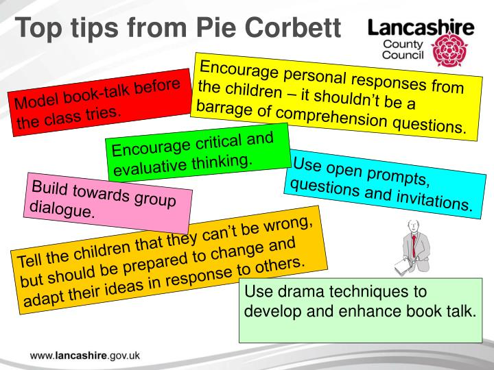 Top tips from Pie Corbett