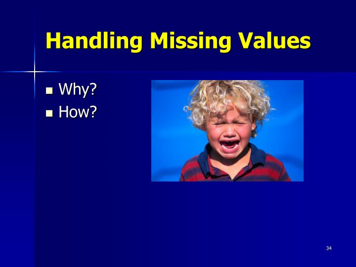Handling Missing Values