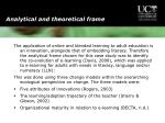 analytical and theoretical frame