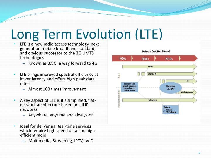 Long Term Evolution (LTE)