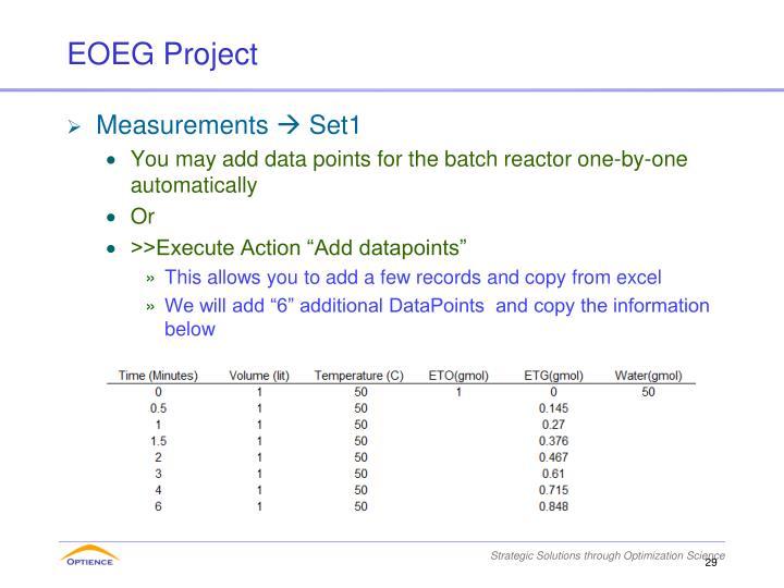 EOEG Project
