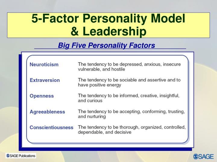 Big Five Personality Factors