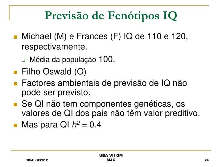 Previsão de Fenótipos IQ