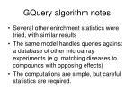 gquery algorithm notes