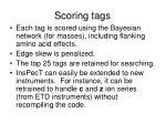 scoring tags