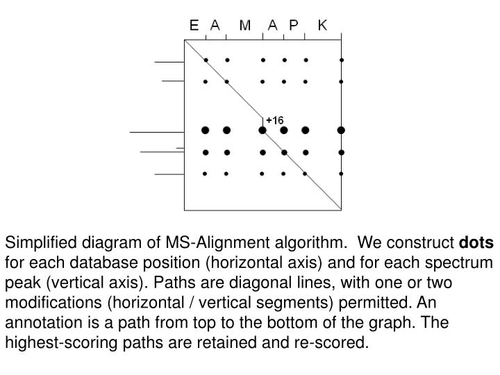 Simplified diagram of MS-Alignment algorithm.  We construct
