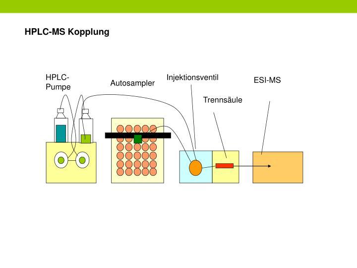 HPLC-MS Kopplung