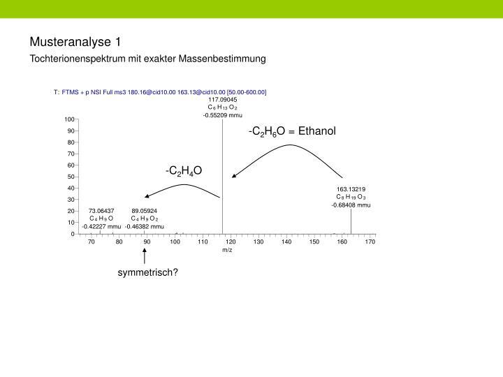 Musteranalyse 1