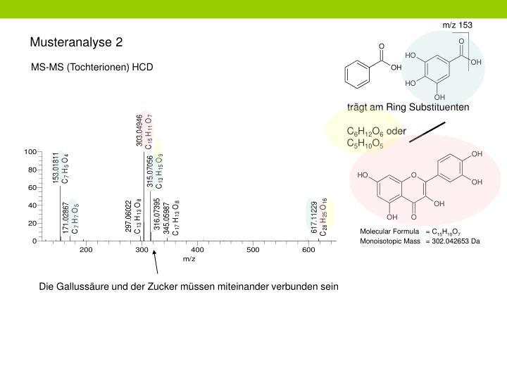 Musteranalyse 2