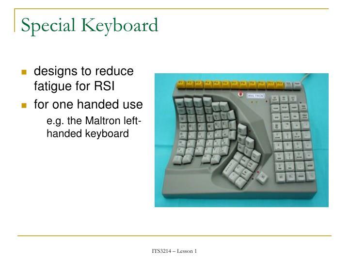 Special Keyboard