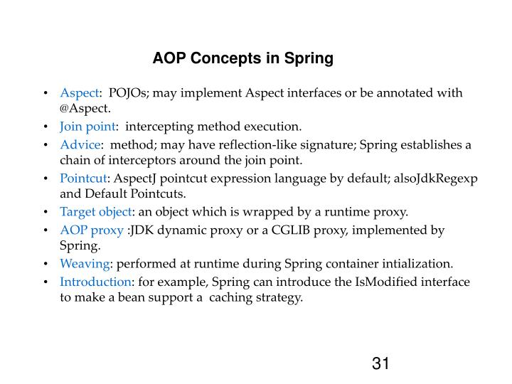 AOP Concepts in Spring
