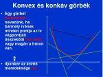 konvex s konk v g rb k