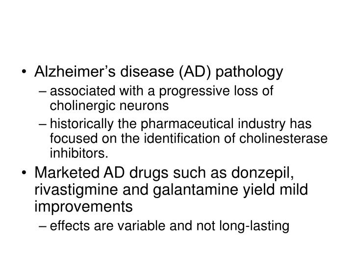 Alzheimer's disease (AD) pathology