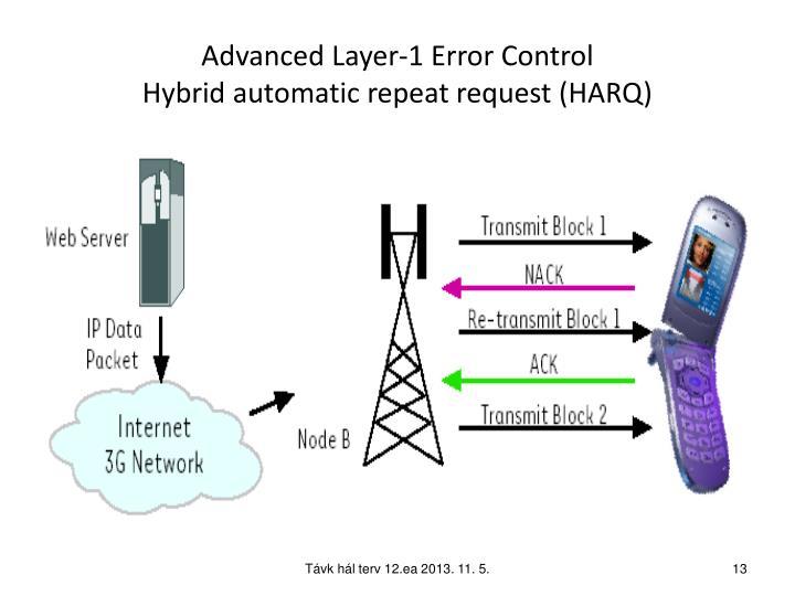 Advanced Layer-1 Error Control