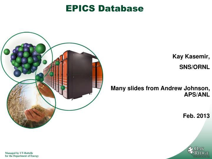 epics database