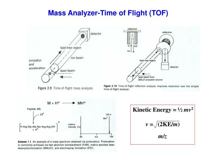 Mass Analyzer-Time of Flight (TOF)