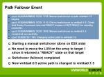 path failover event