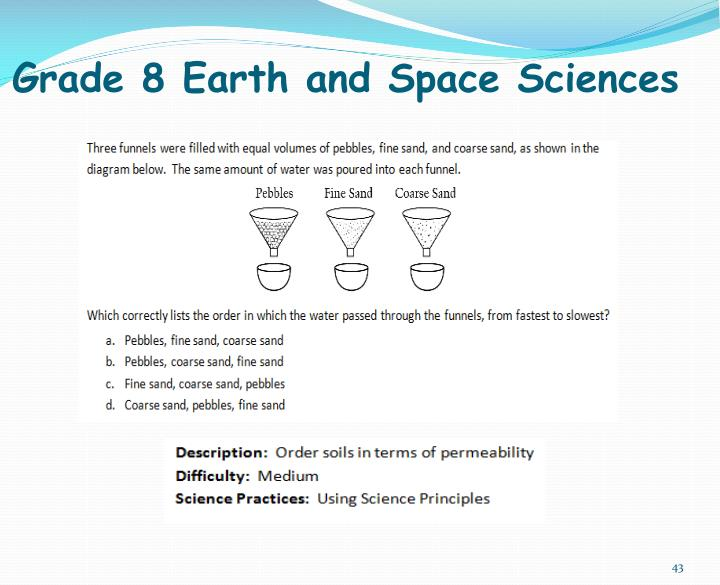Grade 8 Earth and Space Sciences