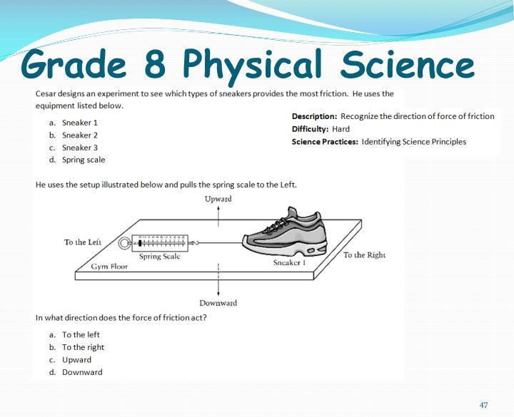 Grade 8 Physical Science