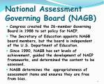 national assessment governing board nagb