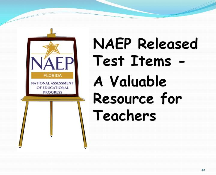 NAEP Released Test Items -