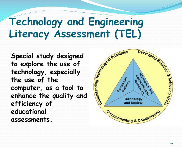 Technology and Engineering Literacy Assessment (TEL)