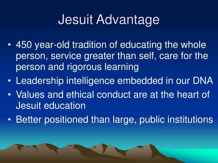 Jesuit Advantage