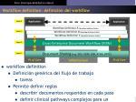 workflow definition definici n del workflow