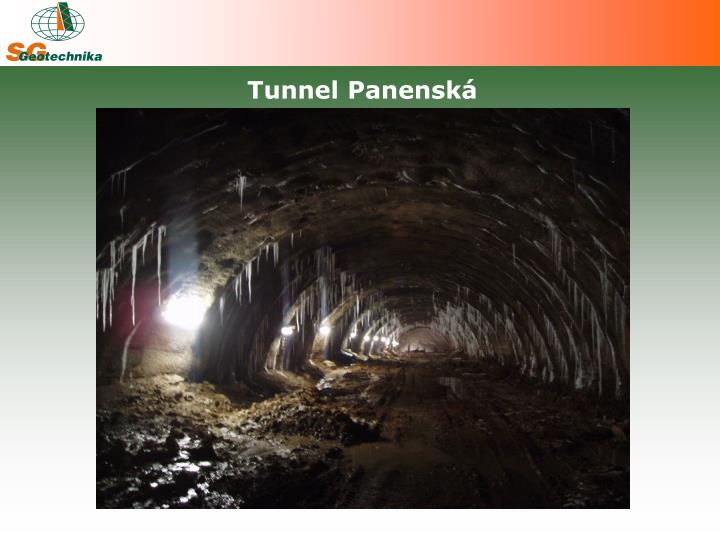 Tunnel Panenská