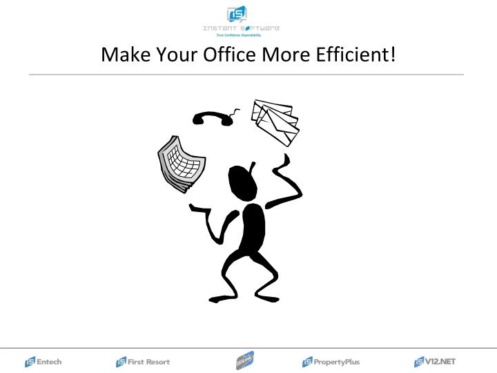 Make your office more efficient