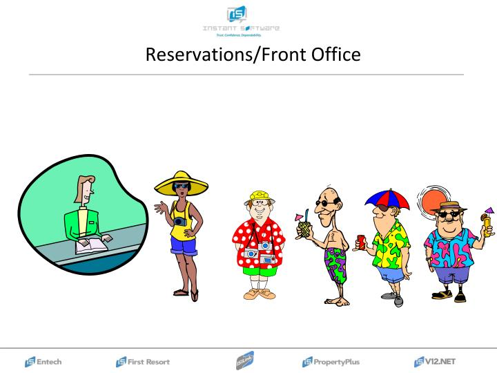 Reservations/Front Office